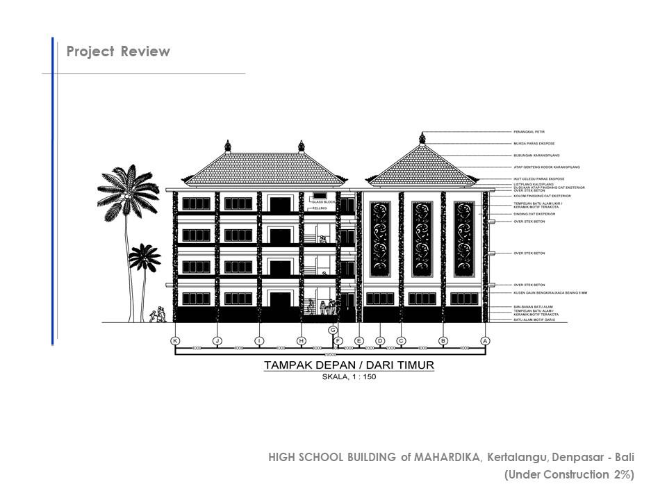 High School Building of Mahardika